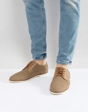 Call it SPRING Gaenburh Lace Up Shoes In Stone