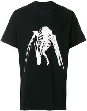 Julius oversized graphic-print T-shirt