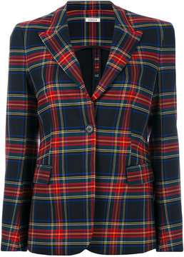 P.A.R.O.S.H. tartan classic blazer