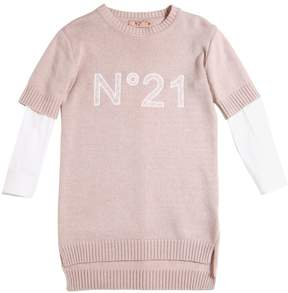 N°21 Wool Blend Knit Dress