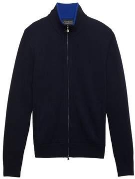 Banana Republic Todd & Duncan Cashmere Full-Zip Sweater Jacket