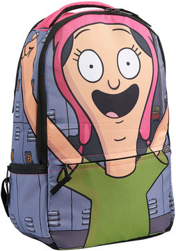 Asstd National Brand Bob'S Burgers Louise Belcher Cosplay Hood DC Comics Backpack
