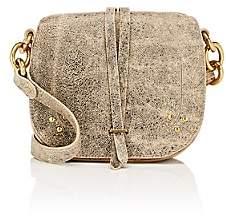 Jerome Dreyfuss Women's Victor Saddle Bag-Gray