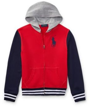 Ralph Lauren Cotton French Terry Jacket Signal Red S