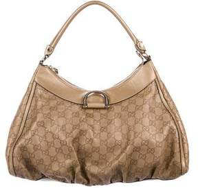 Gucci Guccissima Large D-Ring Hobo