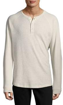 Black & Brown Black Brown Long-Sleeve Henley