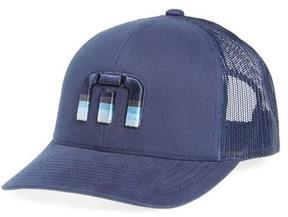Travis Mathew Men's Trucker Hat - Blue