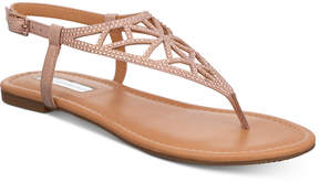 INC International Concepts Women's Matisse Embellished Flat Sandals, Created for Macy's Women's Shoes