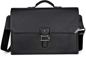 Montblanc Urban Spirit Double Gusset Briefcase- Black