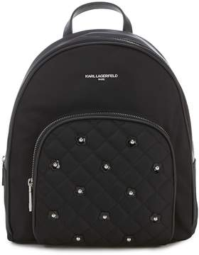 Karl Lagerfeld Paris Cara Nylon Backpack