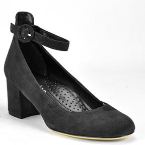 Footnotes Zara - Suede Anklewrap Pump
