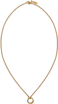 A.P.C. Gold Curtis Necklace