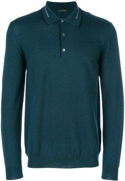 Pal Zileri long sleeve polo shirt