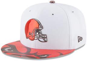 New Era Boys' Cleveland Browns 2017 Draft 59FIFTY Cap