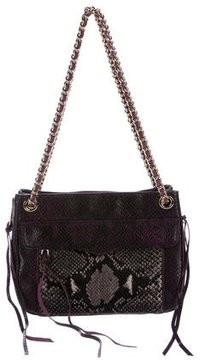 Rebecca Minkoff Embossed Leather Swing Bag - ANIMAL PRINT - STYLE
