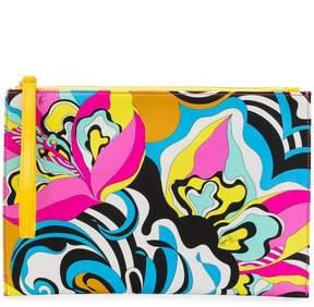 Emilio Pucci printed clutch bag