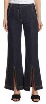 Each X Other Wide-Leg Cotton Denim Jeans