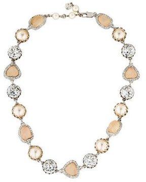 Isaac Mizrahi Embellished Collar Necklace