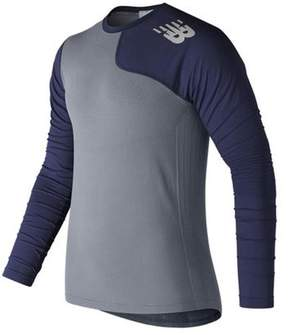New Balance Men's MT7370L Seamless X4J Asymmetrical Left Pullover