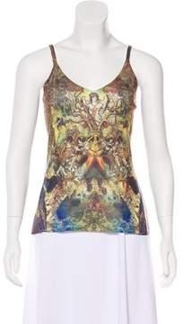 Alberto Makali Knit Printed Top