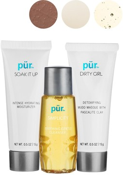 PUR Cosmetics Simply Clean On-The-Go 3-Piece Kit