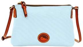 Dooney & Bourke Nylon Crossbody Pouchette Shoulder Bag - LIGHT BLUE - STYLE
