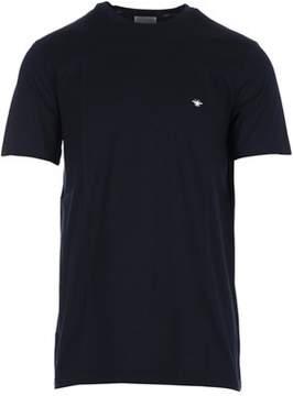 Christian Dior Men's Blue Cotton T-shirt.