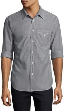 Save Khaki Men's Chambray Work Cotton Sportshirt