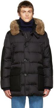 Moncler Black Down Gaze Jacket