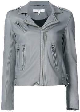 IRO short zip up biker jacket