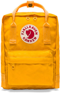 Fjallraven Kanken Mini in Yellow.