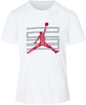 Jordan Lock-Up Graphic-Print Cotton T-Shirt, Big Boys
