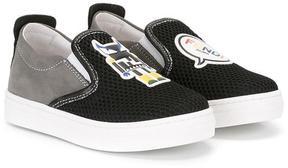 Fendi Kids Monster sneakers
