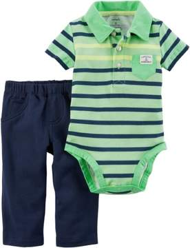 Carter's Baby Boys Captain Adorable Bodysuit Set