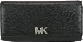 Michael Kors Large Mott Clutch - BLACK - STYLE