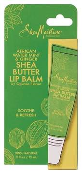 SheaMoisture African Water Mint & Ginger Shea Butter Lip Balm 0.5 oz