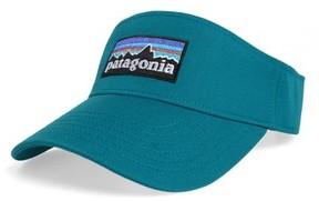 Patagonia Men's P-6 Logo Visor - Blue
