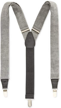 Club Room Men's Herringbone Print Suspenders, Created for Macy's