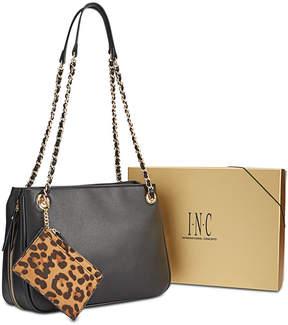 INC International Concepts I.n.c. Deliz Chain-Link Shoulder Bag Gift Box
