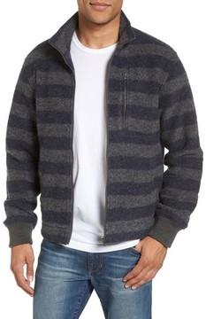 Grayers Men's Bowen Stripe Zip Front Jacket