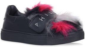 Philipp Plein Annelie Fur Logo Sneakers