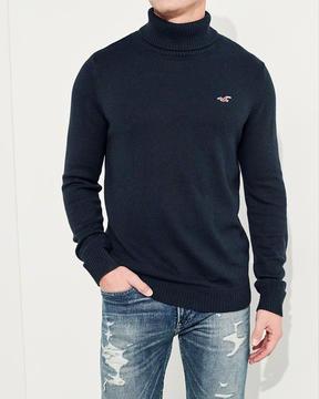 Hollister Turtleneck Icon Sweater