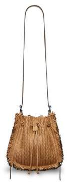 Michael Kors Maldives Leather Shoulder Bag - ACORN - STYLE