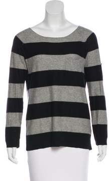 Brochu Walker Cashmere-Blend Striped Sweater