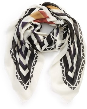 BP Women's Geo Block Square Scarf