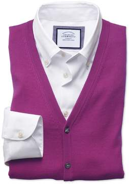Charles Tyrwhitt Berry Merino Wool Vest Size Medium