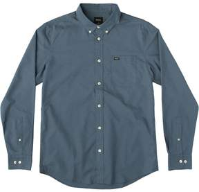 RVCA That'll Do Oxford Long-Sleeve Shirt - Men's