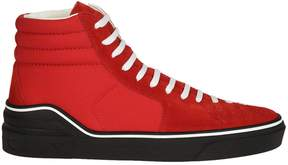 Givenchy Stitched Detail Hi-top Sneakers