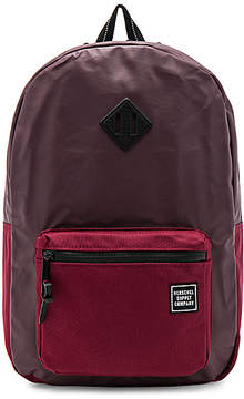 Herschel Supply Co. Studio Ruskin Backpack in Burgundy.