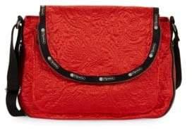 Le Sport Sac Colette Floral Messenger Bag
